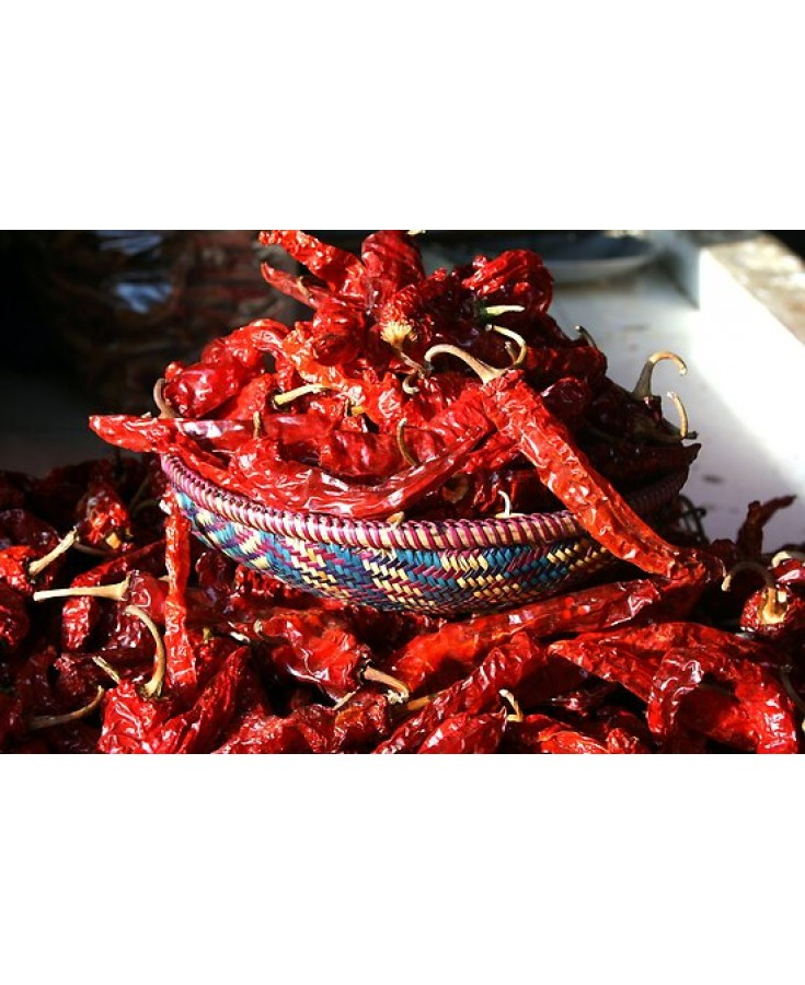 Large Dry Chilies Local (Pkt)
