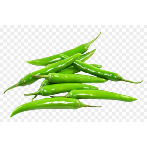 Small Green Chilies 1kg (Local)
